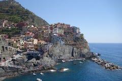 Erstaunliche Ansicht von Monterosso lizenzfreies stockfoto