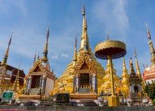 Erstaunliche Architektur von wat praboro Lizenzfreies Stockbild