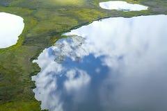 Erstaunliche arktische Landschaft, unglaubliches arktisches Foto, Stockfoto