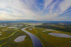 Erstaunliche arktische Landschaft, unglaubliches arktisches Foto, Lizenzfreie Stockbilder