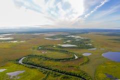 Erstaunliche arktische Landschaft, unglaubliches arktisches Foto, Lizenzfreies Stockbild