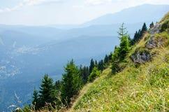 Erstaunliche Berglandschaft! stockbild