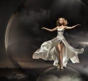 Erstaunliche Blondine Lizenzfreies Stockfoto