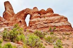 Erstaunliche Bogen-Nationalpark Stockfoto
