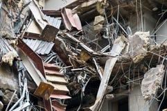 Erstaunliche Demolierungserie Stockbild