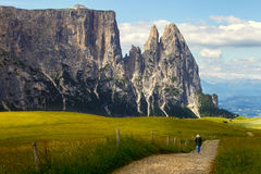 Erstaunliche Dolomiten Stockfotografie