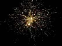 Erstaunliche Feuerwerke stockbild