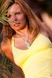 Erstaunliche Frau Stockfoto
