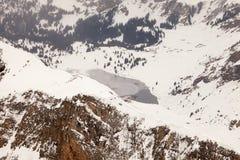 Erstaunliche Gebirgslandschaft von Engelberg, die Schweiz Stockbilder