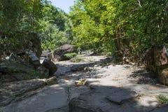 Erstaunliche Insel, die Thailand sich entspannt Lizenzfreies Stockbild
