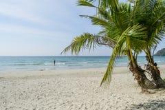 Erstaunliche Insel, die Thailand sich entspannt Lizenzfreie Stockfotos