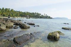 Erstaunliche Insel, die Thailand sich entspannt Stockfoto