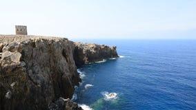 Erstaunliche Küstenlinie, Sardinien stock video footage