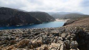 Erstaunliche Küstenlinie, Sardinien stock footage