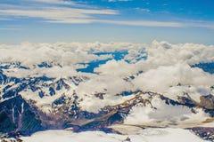 Erstaunliche Landschaft Extremes kletterndes Elbrus Lizenzfreie Stockfotos