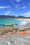 Erstaunliche tasmanische Küste, Tasmanien Australien lizenzfreies stockbild