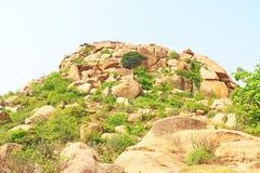 Erstaunliche und enorme Hampi UNESCO-Welterbestätte Karnataka Lizenzfreie Stockfotos
