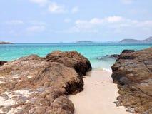 Erstaunlicher kleiner Strand Lizenzfreies Stockbild