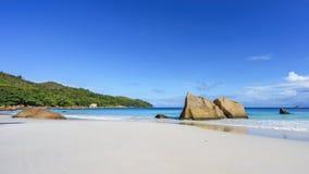 Erstaunlicher Paradiesstrand am anse Lazio, praslin, Seychellen 49 Stockbilder