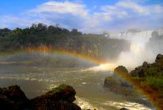 Erstaunlicher Regenbogen in Brasilien Lizenzfreie Stockfotografie