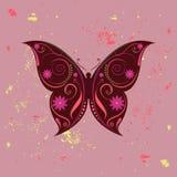 Erstaunlicher Schmetterling lizenzfreie abbildung