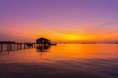Erstaunlicher Sonnenaufgang Lizenzfreie Stockbilder