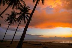 Erstaunlicher Sonnenaufganghimmel Lizenzfreies Stockfoto