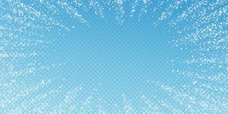 Erstaunlicher Sternschnuppen Weihnachtshintergrund stock abbildung