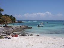 Erstaunlicher Strand und Ruhe in Mexiko Stockfotos