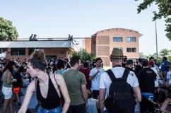 Erstaunlicher Tag Mailand 2016 lizenzfreie stockfotografie