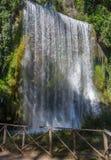 Erstaunlicher Wasserfall lizenzfreie stockbilder