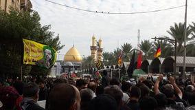 Erstaunliches Bild zeigt die größte religiöse Versammlung Lizenzfreies Stockbild