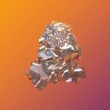 Erstaunliches buntes gruppen-Nahaufnahmemakro Diamond Quartz Rainbow Flame Blues Aqua Aura Kristallauf violettem orange Hintergru Stockfoto