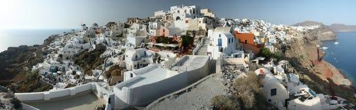 Erstaunliches Gipfel-Dorf Stockbilder