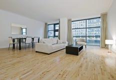 Erstaunliches Luxuxwohnzimmer lizenzfreies stockbild
