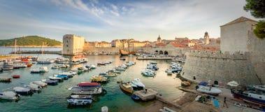 Erstaunliches Panorama von Dubrovnik Lizenzfreie Stockfotografie
