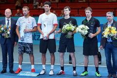Erste Bank Open Doubles Finalists Stock Photography