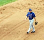 Erste Base Daniel Murphy von NY Mets Lizenzfreie Stockbilder