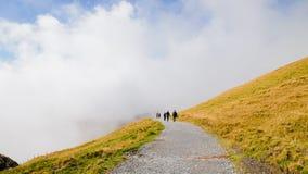 Erste Berge die Schweiz Stockbilder