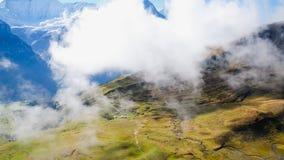 Erste Berge die Schweiz Stockfotos