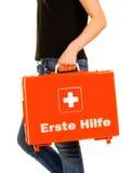 Erste ERSTE HILFE Lizenzfreie Stockfotos