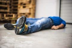 Erste ERSTE HILFE Lizenzfreies Stockfoto