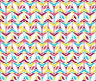 Erste Farbkasten-Form-vertikales nahtloses Muster Libox helle Lizenzfreies Stockfoto