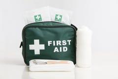 Erste-Hilfe-Ausrüstung Lizenzfreie Stockfotografie