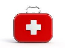 Erste-Hilfe-Ausrüstung Stockfoto