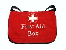 Erste-Hilfe-Ausrüstung Stockfotos