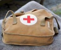 Erste-Hilfe-Ausrüstung des Militärs Lizenzfreies Stockbild