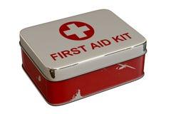Erste-Hilfe-Ausrüstung Stockfotografie