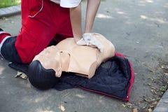 Erste Hilfe - CPR Lizenzfreies Stockfoto