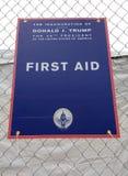 Erste Hilfe, die Einweihung von Donald Trump, der 45. Präsident der US, 58. Präsidenteneinweihung, Washington, DC, USA Lizenzfreies Stockbild
